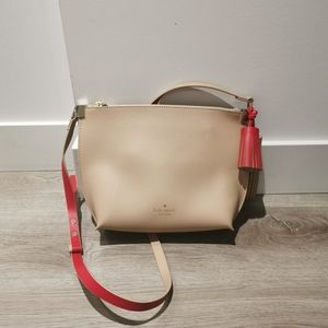 New Kate Spade leather cross body bag